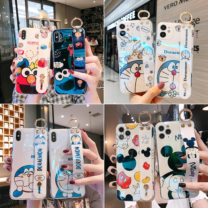 中國代購|中國批發-ibuy99|iphone 7 plus|硅胶壳7/8plus蓝光pro卡通手机壳苹果11腕带XS/max软适用iphone12
