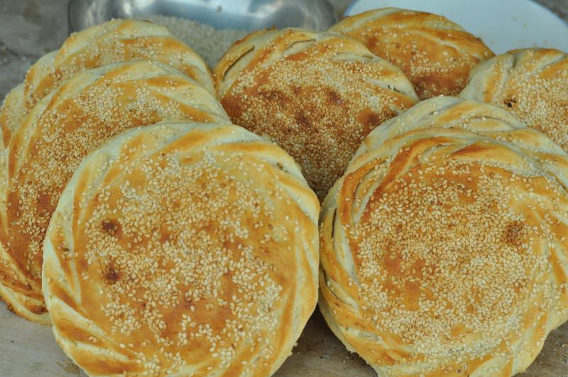 山东菏泽土特产吊炉烧饼纯手工制作大烧饼正宗风味10个装包邮