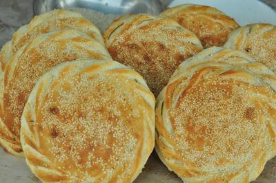 山东菏泽土特产吊炉烧饼纯手工制作大烧饼正宗风味6-10个装包邮