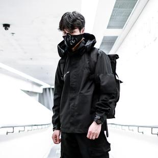 ENSHADOWER隱蔽者李現同款衝鋒衣休閒潮男夾克機能風連帽寬鬆外套
