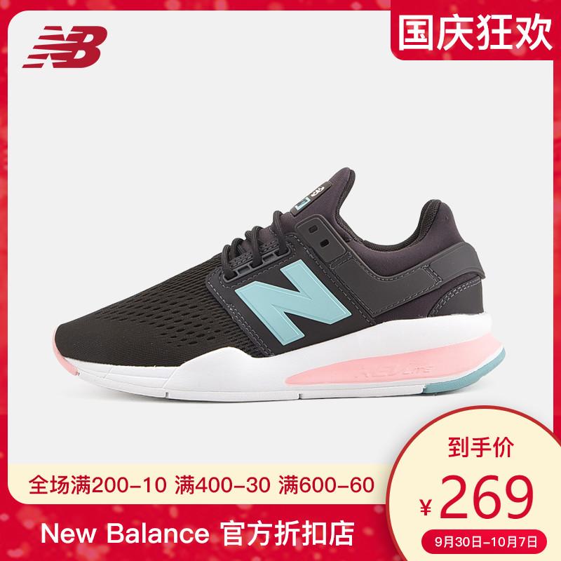 New Balance NB官方女鞋跑步鞋透气休闲复古时尚运动鞋WS247FD279.00元包邮