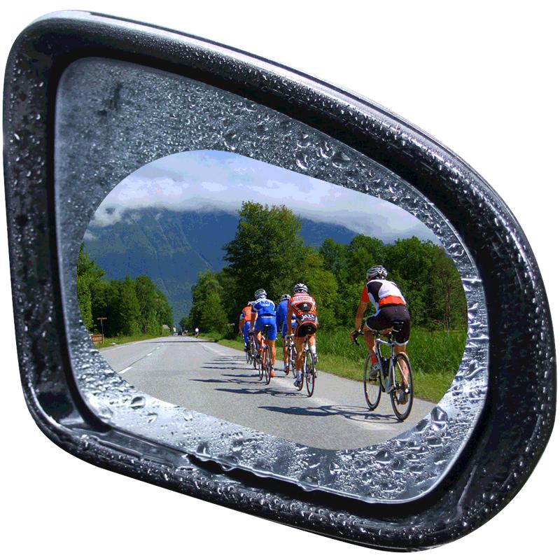 后视镜防雨贴膜车玻璃奔驰新倒镜
