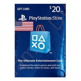 PlayStation Store Gift Card $20美元美国PSN充值点卡美服 (版)图片