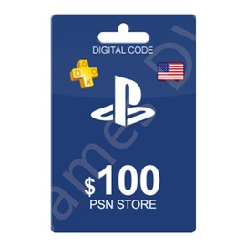 美服PSN100美金充值点卡 美国Sony PSN Store Gift Card PS4/Vita图片
