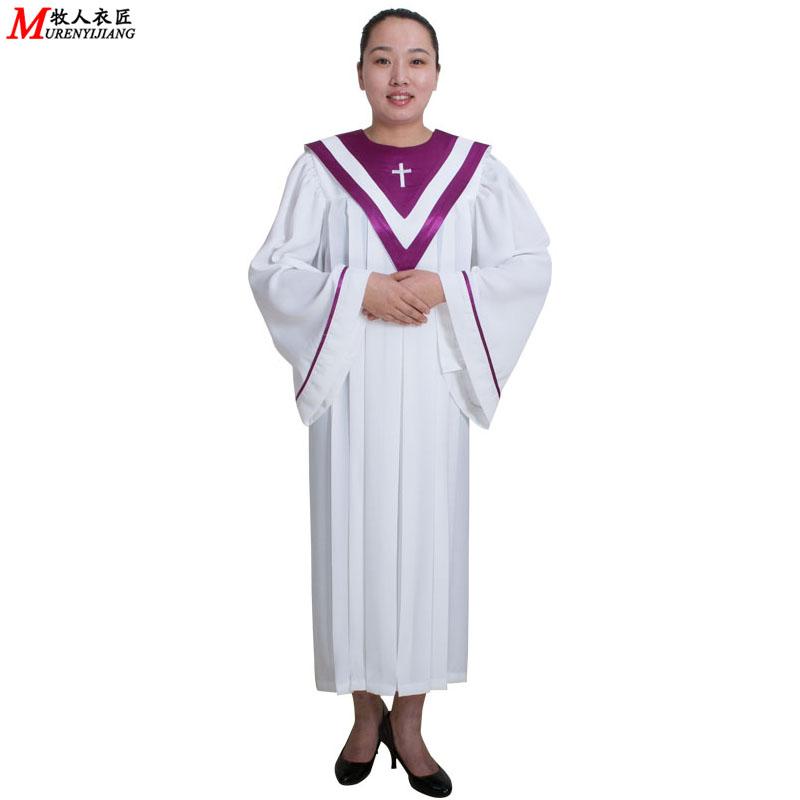 基督教服装服饰诗班服圣诗服圣衣圣袍圣诞节用品牧人衣匠MRY011