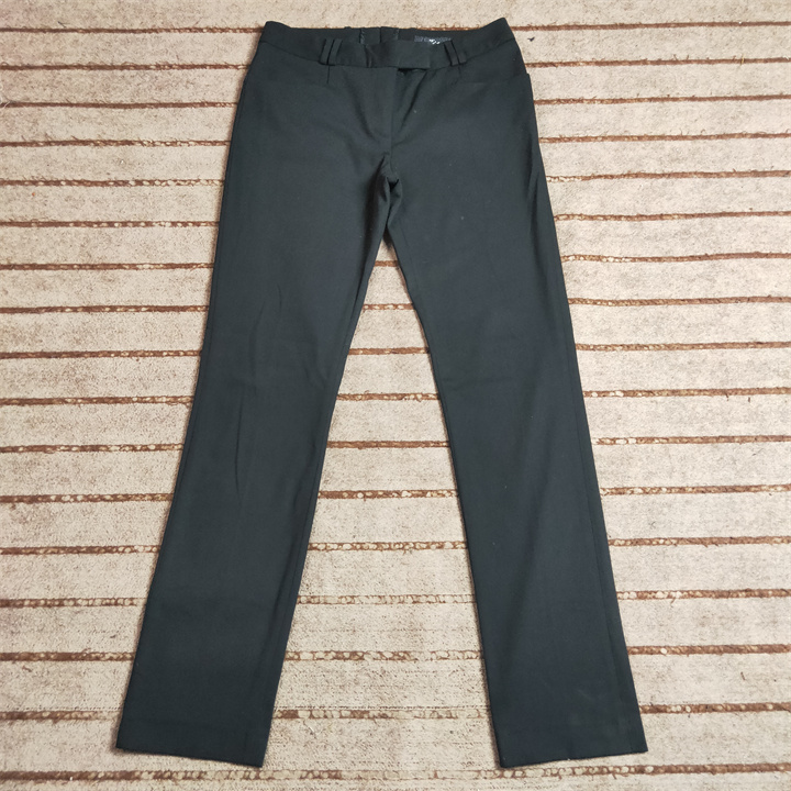 09:00 second hand Swedish famous brand womens student fashion low waist casual pants W80 w691