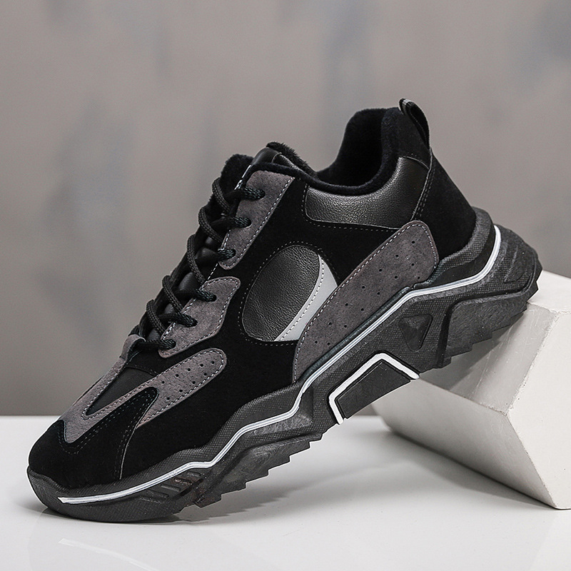 Hong Kong Style Mens new sports mens shoes in winter 2020