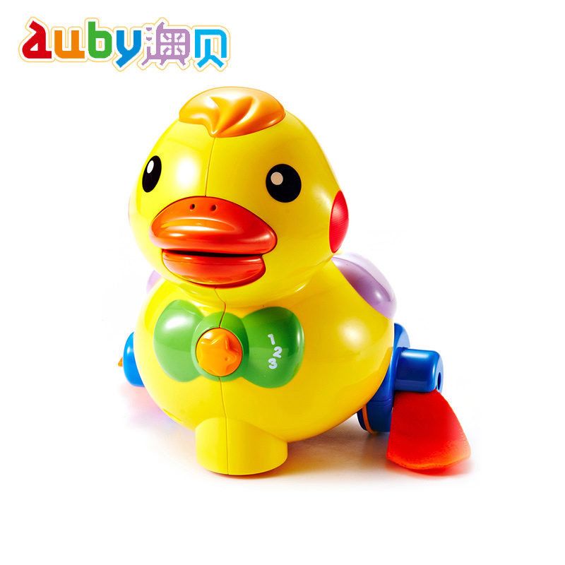 澳貝乖乖小鴨奧貝幼兒寶寶益智會下蛋鴨子嬰兒學爬行玩具6~12個月