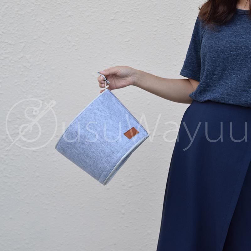 SUSUWAYUU/瓦尤 wayuu内胆包收纳包定型收纳内袋分隔拉链内衬包