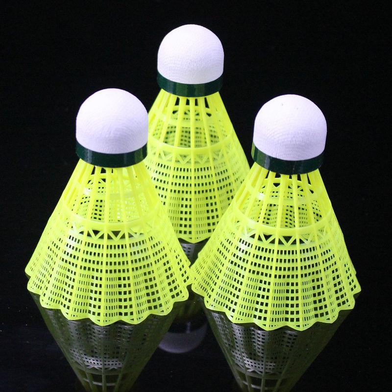 1个顶5个6只装12只羽毛球耐打打不烂尼龙羽毛球室外训练球