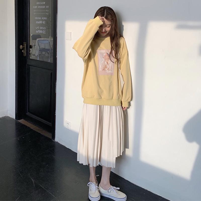 188.00元包邮秋冬裙子女2019年新款潮超仙装卫衣