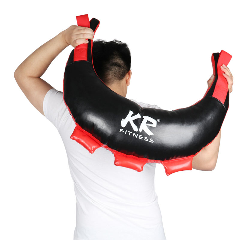 Bulgarian croissant explosive strength training physical fitness Bag Gym private teaching weight-bearing fitness training weight-bearing sandbag