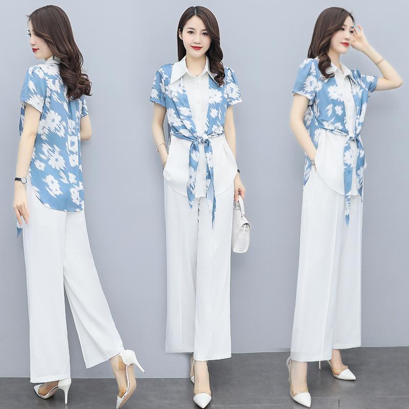 2021 summer new simple and elegant temperament Lapel leisure comfortable fashion slim digital suit