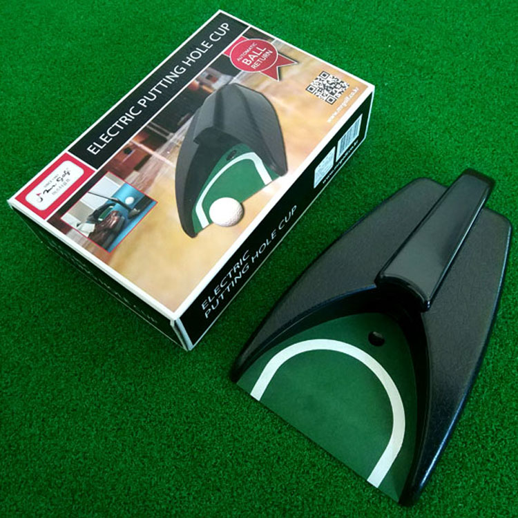 Golf electric return device automatic return ball gravity induction putter green exerciser personal supplies