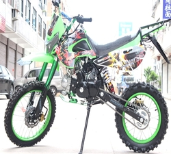 包邮125cc-150cc越野摩托车川崎l两轮山地摩托车中型越野车小高赛