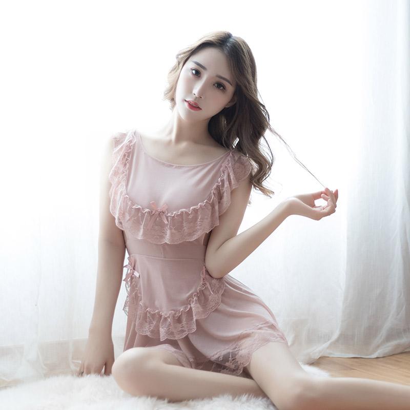 女佣女仆装性感情趣内衣服激情套装sm用品制服透明蕾丝睡衣裙大码