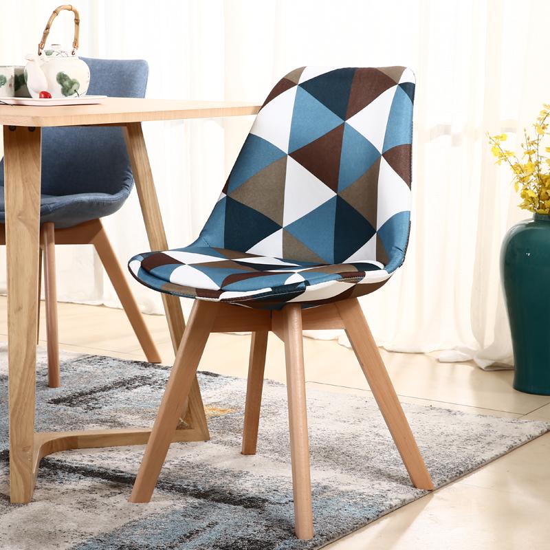 Ирак уильямс стул контакт разговор столы и стулья твердая деревянная обедая стул современный простой спинка стула ikea творческий стул кофе нордический стул