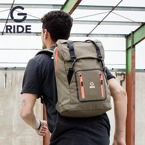 工裝風雙肩包機車騎行超火背包13寸電腦包個性男潮創意雙肩女ins