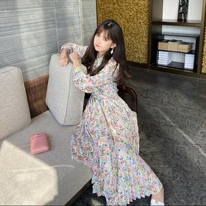 早秋套装裙2020年秋季碎花套装两件套 洋气名媛女神气质女装夏季