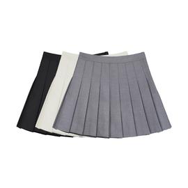 VEAG CHANG百褶裙女2021年春秋新款风约会裙子高腰半身裙学生短裙图片