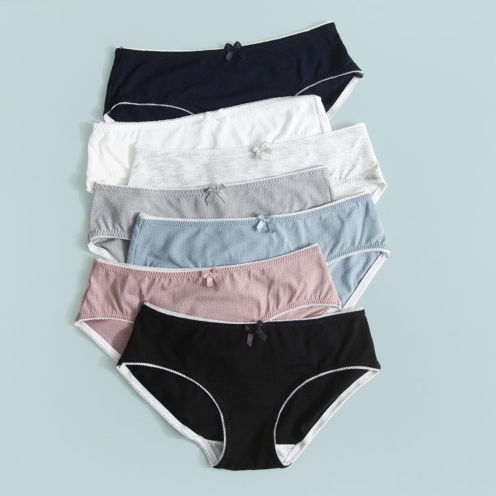 25.80元包邮三角内裤少女士纯棉抗菌低腰日系可爱甜美夏季超薄款透气夏天底裤
