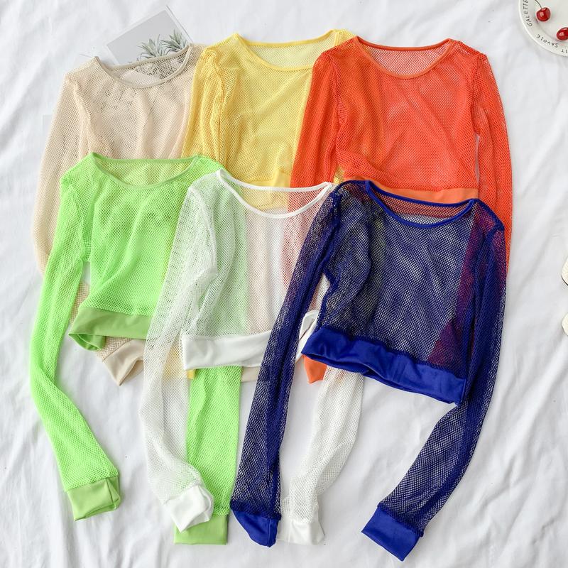 长袖套头很仙的上衣性感镂空薄款罩衫夏2019新款洋气仙女防晒衫潮热销107件五折促销