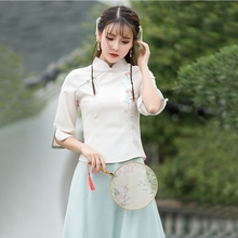 Spring Chinese Dress Women's Top, Stage Dress, National Dress Suit, Tea Han Dress, Antique Women's Dress, Tang Dress