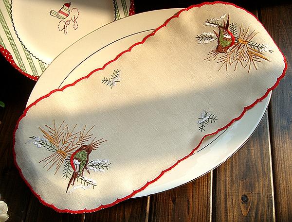 Внешняя торговля льняная ткань вышитый ретро американский страна ткань каботажное судно ваза подушка 18X42CM ткань долина счастливый петь значение