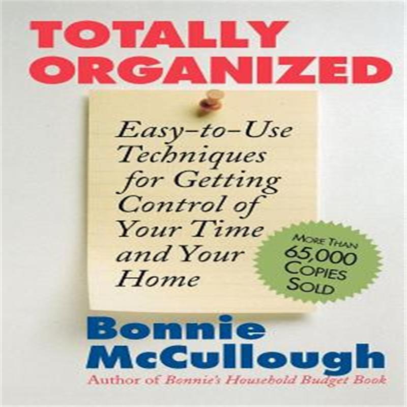 【预售】Totally Organized: The Bonnie McCullough Way