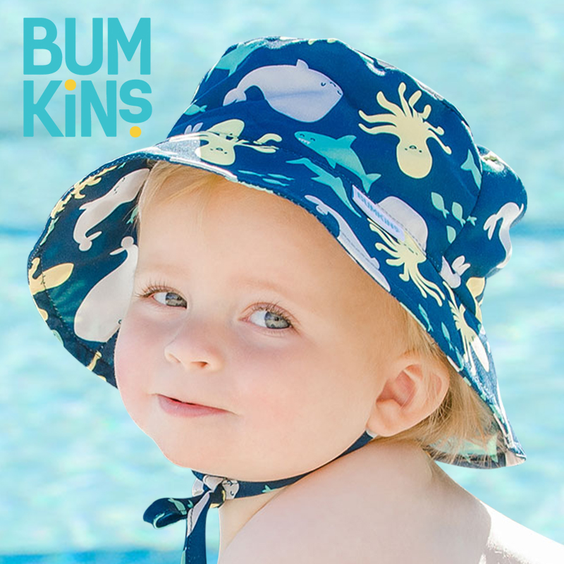 Bumkins sun fisherman Baby Hat boys and girls spring and autumn summer thin baby sun hat