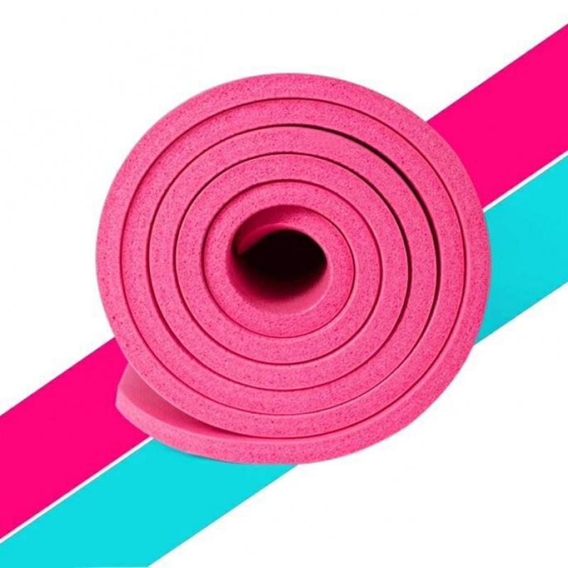 瑜伽垫加宽加厚10MM初学者单人防滑女士健身垫瑜伽垫子跳舞毯