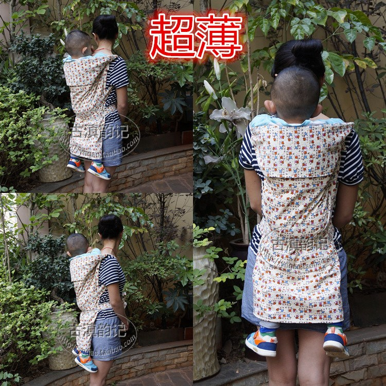 18年新款云南传统背巾背带婴幼儿老式宝宝背袋抱袋多功能哄睡四季
