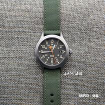 军表36mm天美时军表绿色帆布夜光TW4B14000新款TIMEX现货