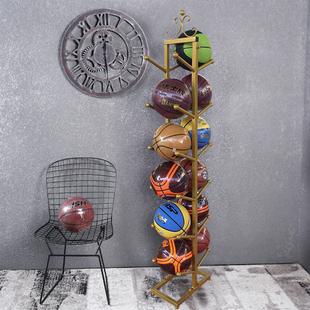 架子 篮球收纳架球架展示架室外球类置物架足球架排球篮球架放球