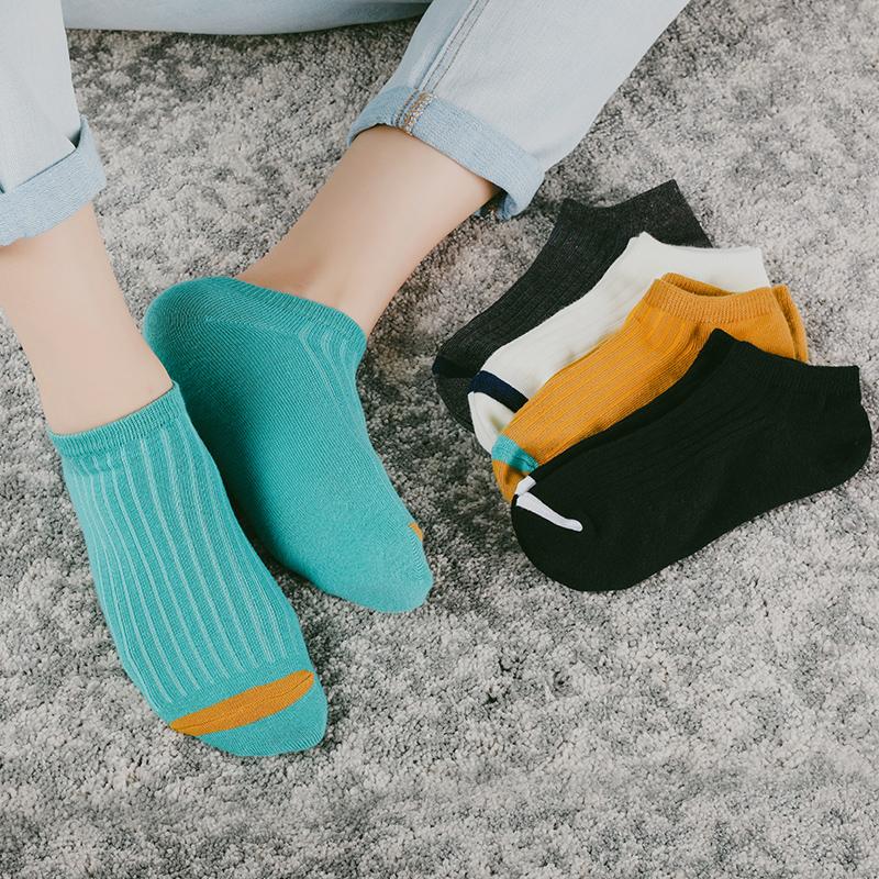 袜子男短袜船袜男士夏秋季薄款纯棉防臭吸汗棉袜潮低帮短筒运动冬