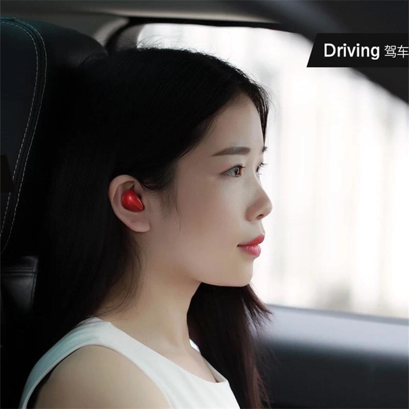 香港REMAX新品高清语音蓝牙耳机轻至3.8g入耳式贴耳设计舒适