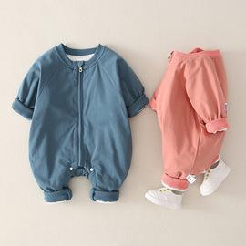 婴儿连体衣冬加厚2020婴儿服装冬季宝宝衣服 新生婴幼儿哈衣批发