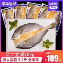 三都港黄鱼鲞大黄鱼黄花鱼冷冻水产生鲜新鲜海鲜鱼免杀洗3.2斤4条