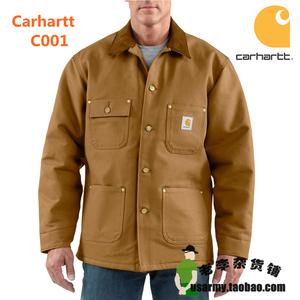 【主线】CARHARTT C001 重磅帆布工装夹克 MR LR码 全新带吊牌IRR