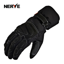 Nerve Winter Motorcycle Gloves men and women thickened warm waterproof windproof cold anti-fall locomotive racing Ride