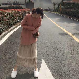 2019初秋新款網紅女抖音時尚毛衣裙子御姐小香風洋氣兩件套裝秋冬