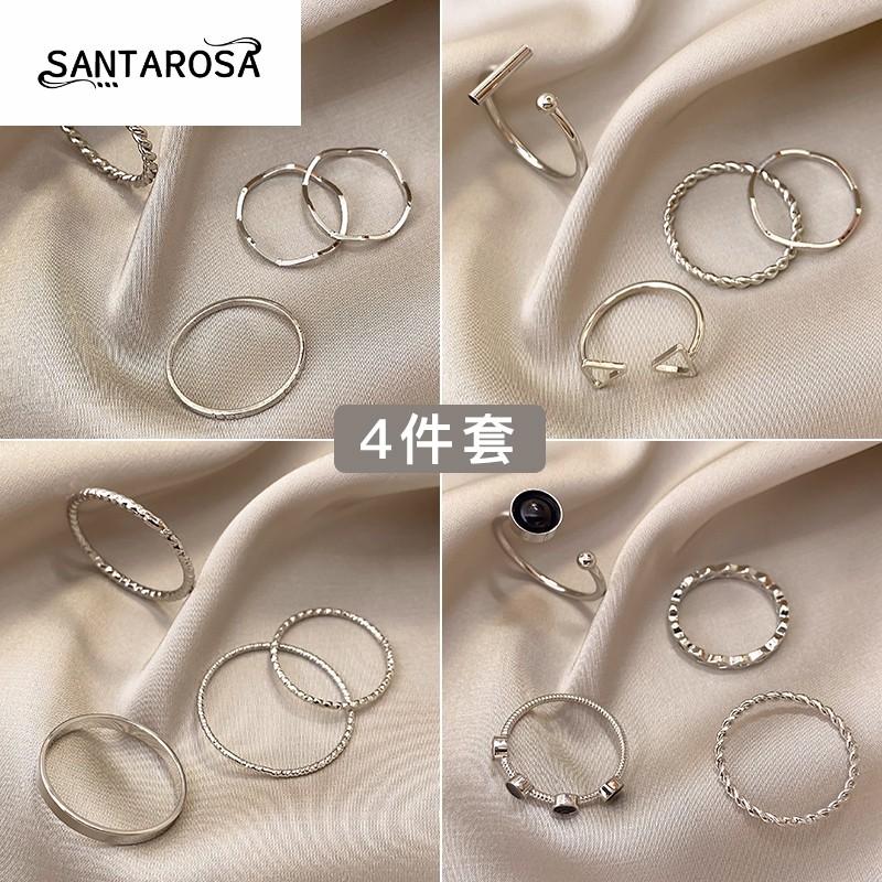 戒指女时尚个性ins潮尾戒小众设计简约冷淡风小指高级感指环