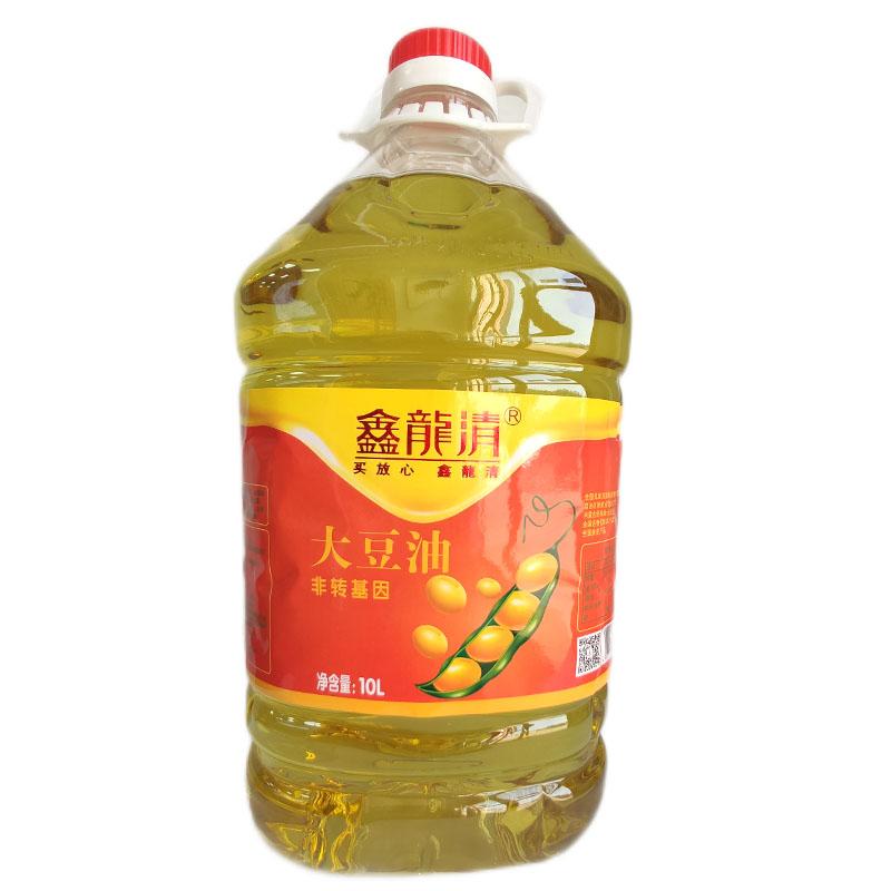 Xinlongqing first grade soybean blend oil (non trans) 10L