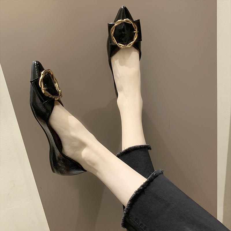 浅口单鞋女平底学生有过的说下怎么样