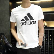 Adidas short sleeve men's 2020 summer new official website t-shirt men's sports half sleeve breathable round neck t-shirt men
