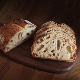 周一三发T80石磨全麦乡村硬欧包Sourdough酸面包无油无糖健身主食