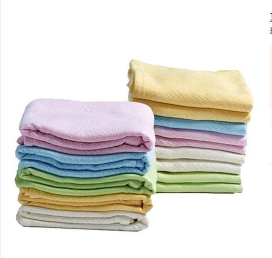 夏季凉1.8米加长双面1.5米双人双面枕巾长款竹纤维1.2米加厚高档