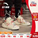 潮流鞋 2020年夏季 安踏霸道可口可乐联名男鞋 潮流时尚 休闲鞋 运动鞋