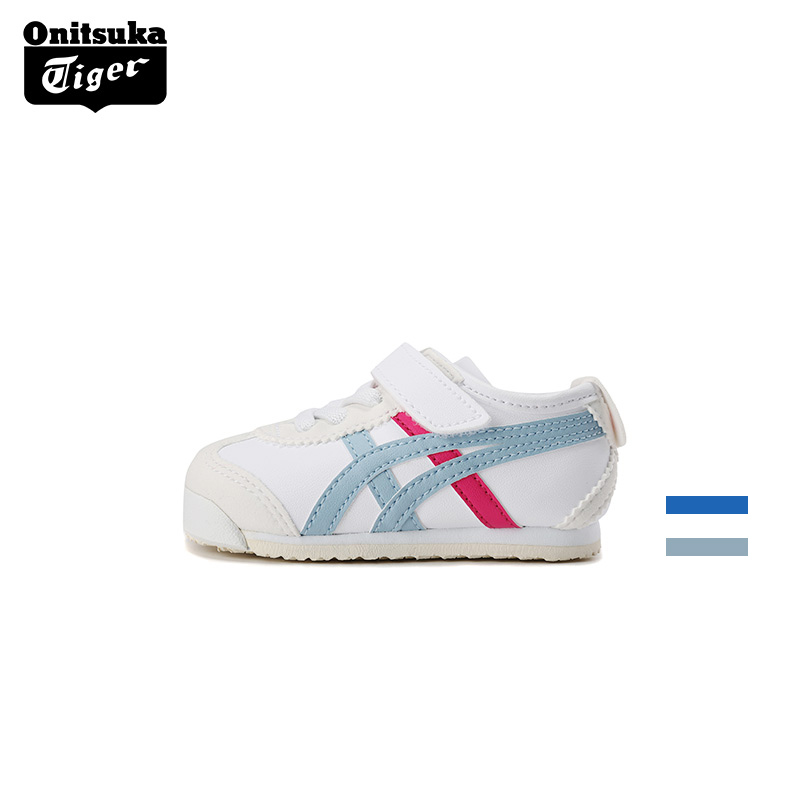 Onitsuka tiger children's shoes men's and women's little white baby leisure sports walking shoes 1-year-old 2-year-old 3-year-old