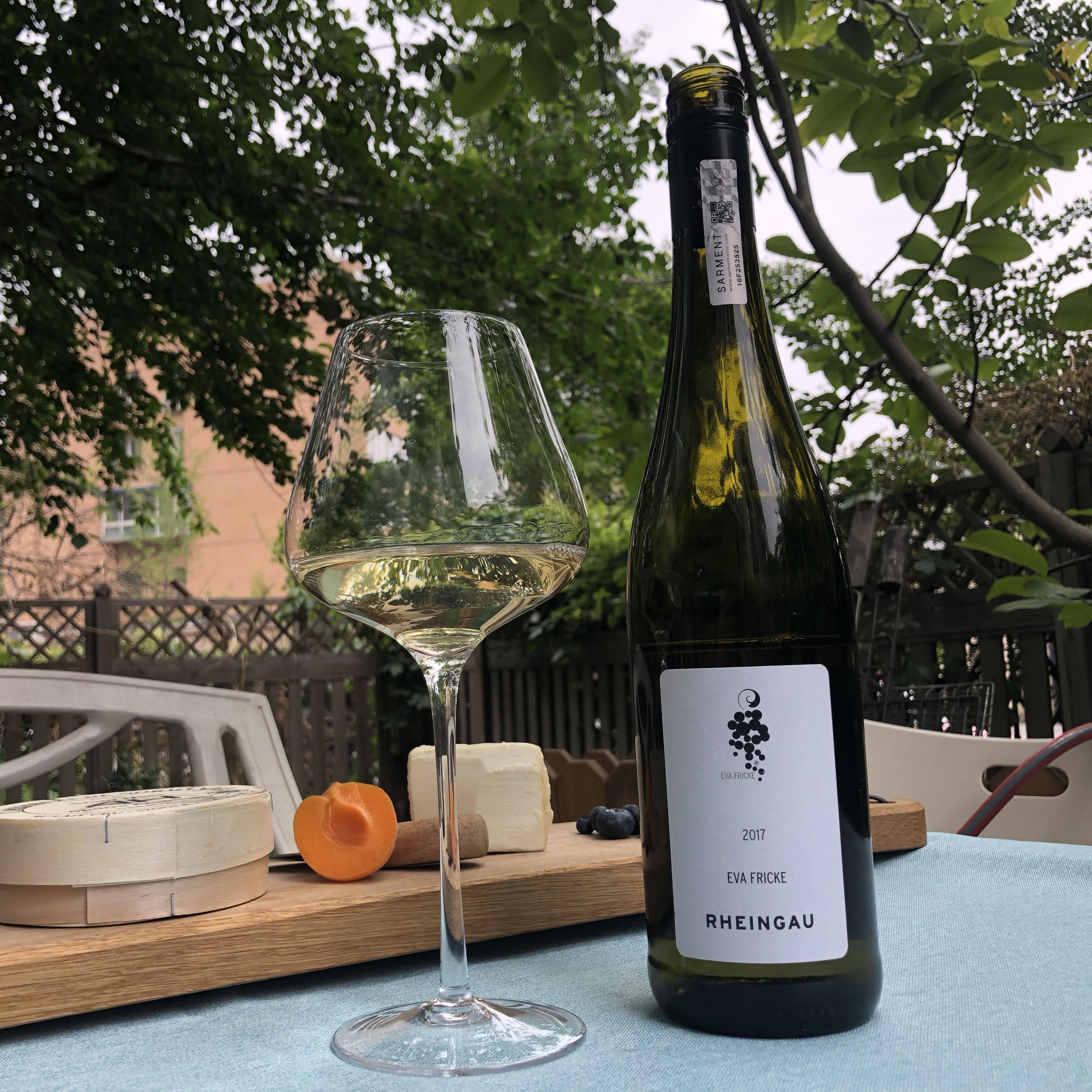 德国莱茵高佛里克雷司令白葡萄酒EvaFricke RheingauRiesling2017